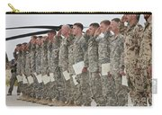 U.s. Army Soldiers And Recipients Carry-all Pouch