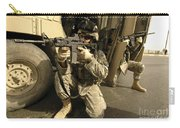 U.s. Army Soldiers Providing Overwatch Carry-all Pouch by Stocktrek Images