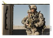 U.s. Army Soldiers Search A Site Carry-all Pouch