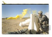 U.s. Army Specialist Calls In For An Carry-all Pouch