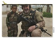 U.s. Contractor Poses For A Picture Carry-all Pouch