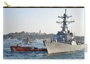 Us Cruiser Docking In Istanbul Carry-all Pouch