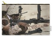 U.s. Marine Clears The Feed Tray Carry-all Pouch