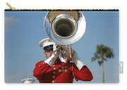 U.s. Marine Corps Drum And Bugle Corps Carry-all Pouch