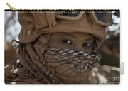 U.s. Marine Covered In Dirt Carry-all Pouch