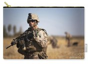U.s. Marine During A Security Patrol Carry-all Pouch