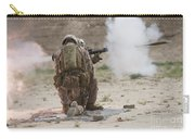 U.s. Marine Fires A Rocket-propelled Carry-all Pouch