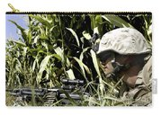 U.s. Marine Maintains Security Carry-all Pouch