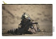 U.s. Marine Sights In A Barrett M82a1 Carry-all Pouch