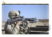 U.s. Marine Sites Through The Scope Carry-all Pouch