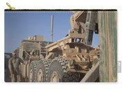 U.s. Marine Uses A Logistics Vehicle Carry-all Pouch