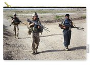 U.s. Marines And Afghan National Police Carry-all Pouch