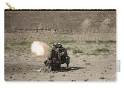 U.s. Marines Fire A Rocket-propelled Carry-all Pouch