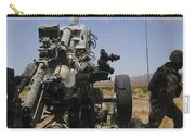 U.s. Marines Fire An M777 Howitzer Carry-all Pouch