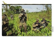 U.s. Marines Guard An Extraction Point Carry-all Pouch