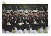 U.s. Marines March By During The Pass Carry-all Pouch