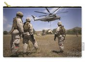 U.s. Marines Observe Ch-53e Super Carry-all Pouch