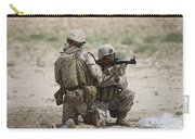 U.s. Marines Prepare A Fragmentation Carry-all Pouch