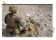 U.s. Marines Provide Suppressive Fire Carry-all Pouch