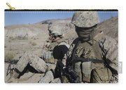 U.s. Marines Take A Break Carry-all Pouch