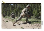 U.s. Marines Training At The Mountain Carry-all Pouch by Stocktrek Images