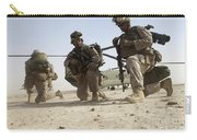 U.s. Marines Unloading Carry-all Pouch