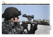 U.s. Navy Chief Uses An La9p Nonlethal Carry-all Pouch