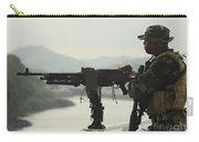 U.s. Navy Petty Officer Stands Watch Carry-all Pouch