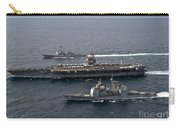 U.s. Navy Ships Transit The Atlantic Carry-all Pouch