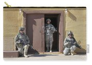 U.s. Soldiers On Guard At Fort Irwin Carry-all Pouch