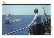 Uscgc Thetis Approaches A German Combat Carry-all Pouch