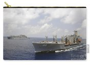 Usns Alan Shepard And Usns Joshua Carry-all Pouch