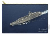 Uss Abraham Lincoln Transits The Indian Carry-all Pouch by Stocktrek Images