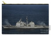 Uss Bunker Hill Fires Two Mk-45 5 Carry-all Pouch