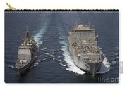 Uss Cape St. George Pulls Alongside Carry-all Pouch