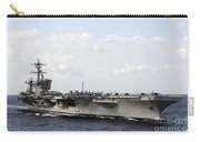 Uss Carl Vinson Underway In The Arabian Carry-all Pouch by Stocktrek Images
