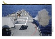 Uss Halsey Fires Its Mk-45 Carry-all Pouch