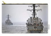 Uss Porter And Uss Nitze Participate Carry-all Pouch