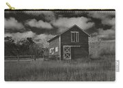 Utah Barn In Black And White Carry-all Pouch