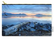 Utah Lake At Sunset Carry-all Pouch
