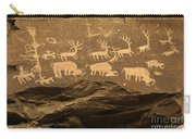 Utah Petroglyphs 1 Carry-all Pouch