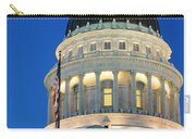 Utah State Capitol Building Dome At Sunset Carry-all Pouch