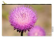 Utah Thistle Flower Carry-all Pouch