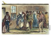Va: Freedmens Bureau 1866 Carry-all Pouch by Granger