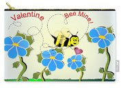 Valentine Bee Mine Carry-all Pouch