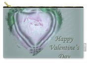 Valentine Pink Tree Peony Carry-all Pouch