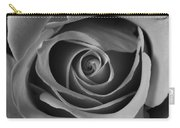 Valentine Rose - Bw Carry-all Pouch