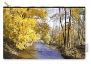 Valley Forge Creek In Autumn Carry-all Pouch
