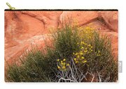 Valley Of Fire Yellow Vegetation Nevada Carry-all Pouch