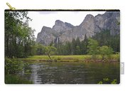 Valley View Of Bridalveil Falls Carry-all Pouch